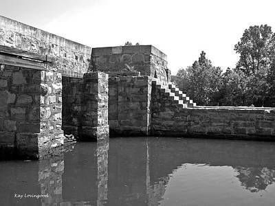 Photograph - Old Canal Lock by Kay Lovingood