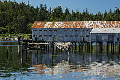 Photograph - Old Cannery by Inge Riis McDonald