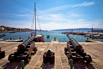 Photograph - Old Cannons In Town Of Senj by Brch Photography