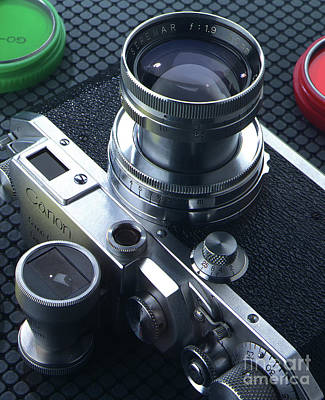 Photograph - Old Canon IId Rangfinder Camera  by Garry McMichael