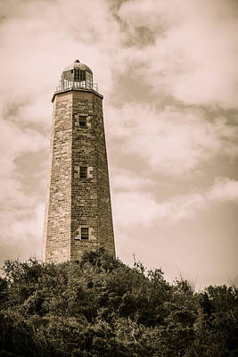 Photograph - Old Cape Henry Lighthouse by Joni Eskridge