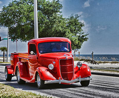 Photograph - Old Car 2 by Cathy Jourdan