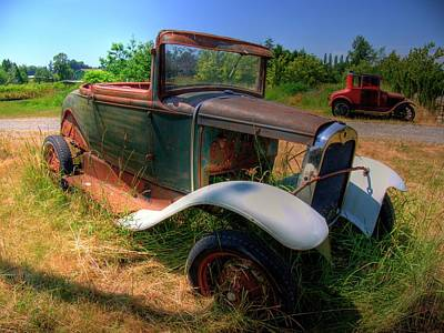 Photograph - Old Car 2 by Lawrence Christopher