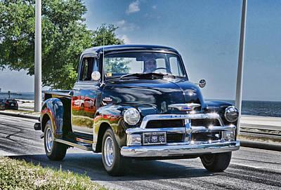 Photograph - Old Car 3 by Cathy Jourdan