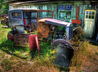 Photograph - Old Car 3 by Lawrence Christopher