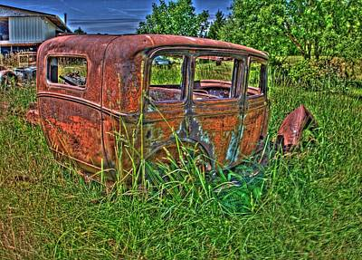 Photograph - Old Car 5 by Lawrence Christopher