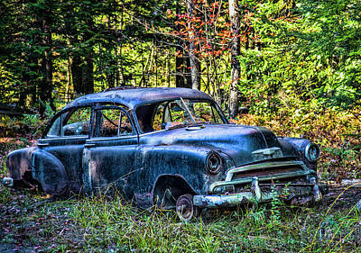 Photograph - Old Car by Alana Ranney