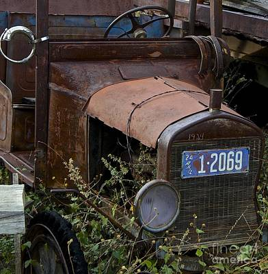 Rust Photograph - Old Car by Anthony Jones