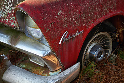 Photograph - Old Car City 1 by David Beebe