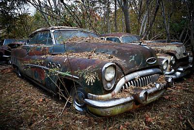 Photograph - Old Car City 10 by David Beebe