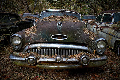 Photograph - Old Car City 11 by David Beebe