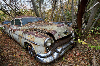 Photograph - Old Car City 13 by David Beebe