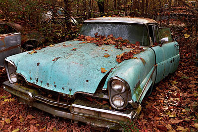 Photograph - Old Car City 15 by David Beebe
