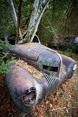Photograph - Old Car City 18 by David Beebe