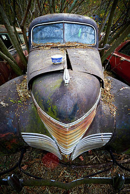Photograph - Old Car City 21 by David Beebe