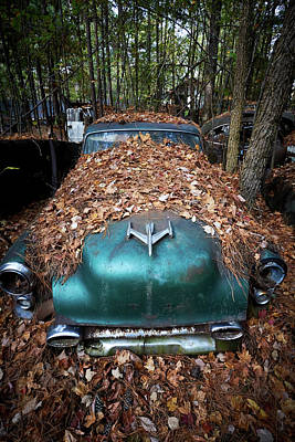 Photograph - Old Car City 31 by David Beebe