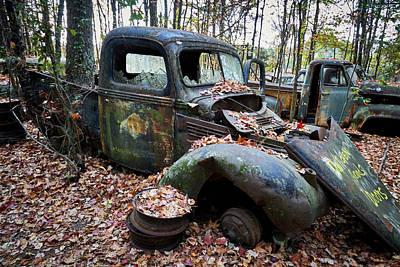Photograph - Old Car City 33 by David Beebe
