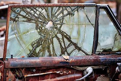 Photograph - Old Car City 34 by David Beebe