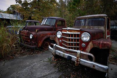 Photograph - Old Car City 4 by David Beebe