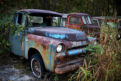 Photograph - Old Car City 5 by David Beebe