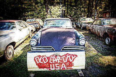Photograph - Old Car City by Alan Raasch