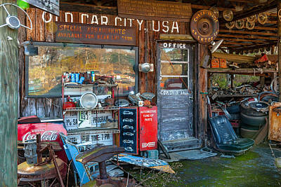 Photograph - Old Car City Usa by Erwin Spinner