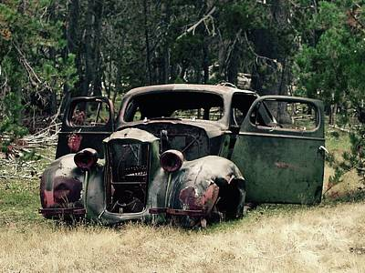 Photograph - Old Car by Leslie Brashear