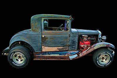 1930 Chevy Coupe Print by Lori Hutchison
