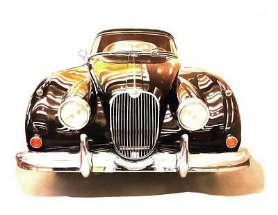 Digital Art - Old Car by Susan Stone