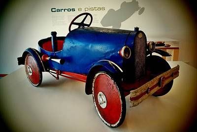 Photograph - Old Car Toy 02 by Dora Hathazi Mendes