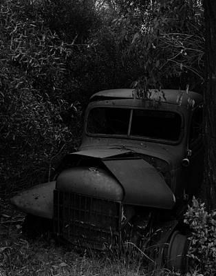 Photograph - Old Car by Werner Hammerstingl