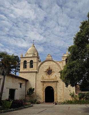 Old Carmel Mission Art Print by Gordon Beck