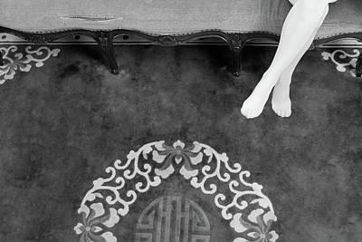 Photograph - Old Carpet #8411 by Andrey Godyaykin