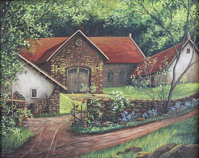 Stonewall Painting - Old Carriage House Farm by Diana Miller