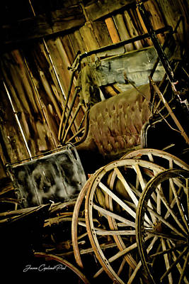 Photograph - Old Carriage by Joann Copeland-Paul