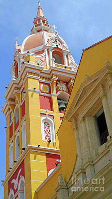Photograph - Old Cartagena 19 by Randall Weidner
