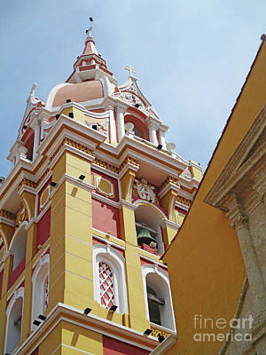 Photograph - Old Cartagena 20 by Randall Weidner