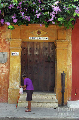 Photograph - Old Cartagena 29 by Randall Weidner