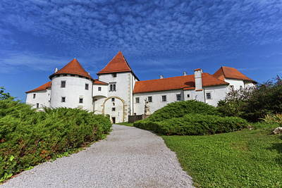 Photograph - Old Castle, Varazdin, Croatia by Elenarts - Elena Duvernay photo