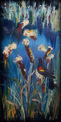 Painting - Old Cat Tails     21 by Cheryl Nancy Ann Gordon