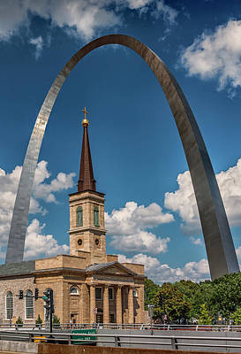 Photograph - Old Cathedral And Arch Port-7r2_dsc9317_06132017 by Greg Kluempers