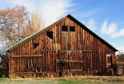 Photograph - Old Cedarville Barn by Dreamweaver Gallery