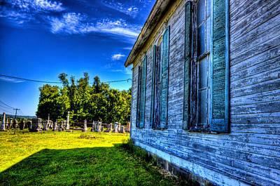 Photograph - Old Cemetary by Jonny D