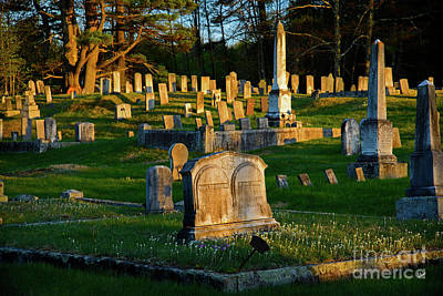Photograph - Old Cemetery  by Alana Ranney