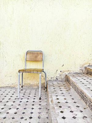 Old Chair Art Print by Tom Gowanlock