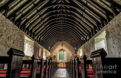 Aisle Photograph - Old Chapel by Adrian Evans