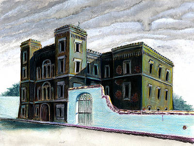 Old Charleston Jail Art Print by Thomas Hamm