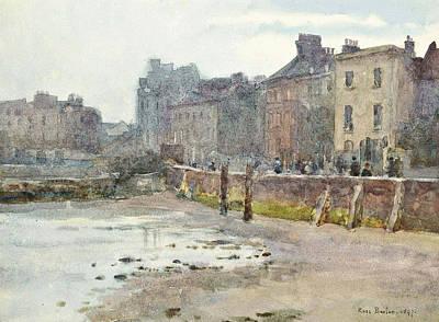 Old Chelsea Wall, London Art Print