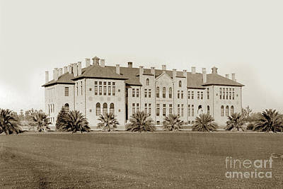 Photograph - Old Chemistry Building At Stanford University 1903 by California Views Mr Pat Hathaway Archives