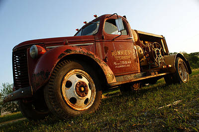 Old Chevroloet Art Print by Off The Beaten Path Photography - Andrew Alexander